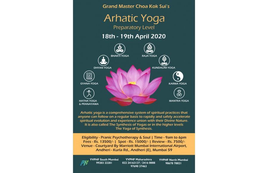 Arhatic Yoga Preparatory level
