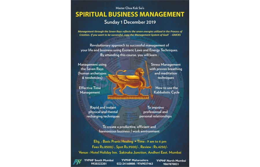 Spiritual Business Management - Mumbai
