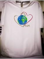 Twin Hearts Meditation T-Shirt (Male)