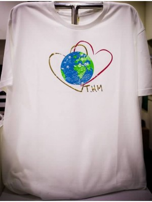 Twin Hearts Meditation T-Shirt (Male)